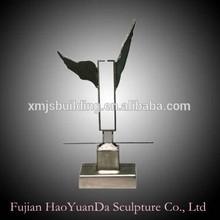 Metal Eagle Statue outdoor sculptures
