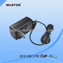 12v 1a switching power adapter for router with UL CE FCC