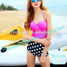 new design fashion women bikini tankini swimwear 2 piece set