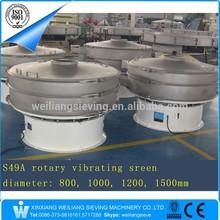 stainless steel salt screening equipment/factory price separating sifter/grader salt