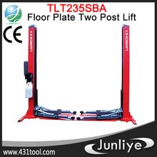 TLT235SBA Economical Floor Plate 2 Post Lift hot in ground quick lift car lift