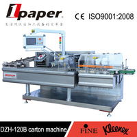 Multifunctional automatic carton packaging machine for bottle
