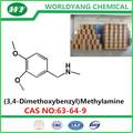 Worldyang marca( 3,4- dimethoxybenzyl) metilamina cas. 63-64-9