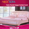 linda rosa menina de couro estilo cama h6080