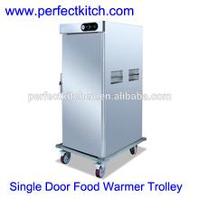 Mobile Singe Door Electric Food Warmer Cabinet /Electric Food Warmer Trolley