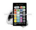 vendita calda 220v 3w e27 telecomando 16 di colore rgb ha condotto la luce della lampadina
