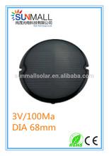 Irregular Epoxy Mini Solar Panel 3V 100Ma