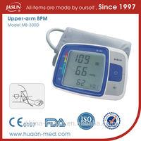 sphygmomanometer,blood pressure monitor with pulse oximete,electric bpm