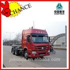 China's new model SINOTRUK howo 371hp tractor truck made in China