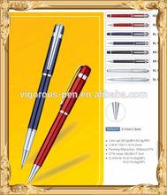 metal twist ballpoint pen