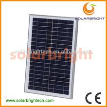 SOLARBRIGHT manufacturer with TUV CE UL solar panel price photovoltaic 40W Mono crystalline solar panel