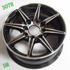 black wheel alloy rim of 13-inch