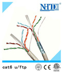 made in China Cu wire 4 pairs twisted cat6 ftp network cable