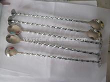 stainless steel bar spoon