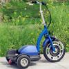three wheel battery powered cheap trike drift pedal kart