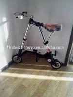 ALMX mini folding bike pocket bike a-bike/8'' 10'' inch folding bike/aluminum alloy