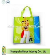 Customized Logo Printed laminated woven PP bag/shopping tote bag