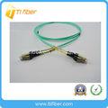 Duplex om3 5.25mm tipo de paso mini lc de fibra óptica patch cord