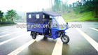 india hot sale three wheel taxi for passenger tricycle with closed cargo seat