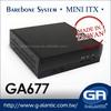 intel core cpu mini itx industrial pc box -GA677