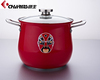Chinese Feature Induction Stainless Steel Enamel Pot