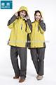 chaqueta de esquí de la capa a prueba de agua capa de esquí transpirable las mujeres capa de lluvia chaqueta con capucha