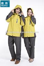Revestimento do revestimento de esqui à prova d ' água esqui casaco casaco respirável mulheres chuva jaqueta com capuz