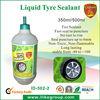 Puncture repair liquid tire sealant