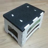 Plastic chair manufacturer plastic foldable step stool/footstool