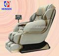 2014 hengde 3d gravedad cero silla del masaje con sistema de ventilación