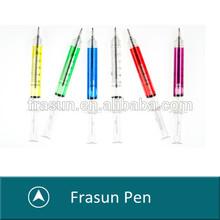 Lovely cheap syringe ball pen,Promotion syringe ball pen