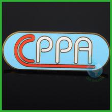 2014 gold plate customized logo pin/China wholesale high quality custom lapel pin