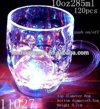 Luminous Light Cup/LED flashing Glass/party favor glowing mug 10oz 11027