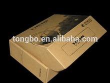 Delicate Design China Gift Custom Brown Kraft Paper Box