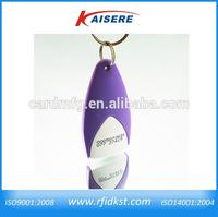 ISO14443A smart keyfob, abs rfid key fob