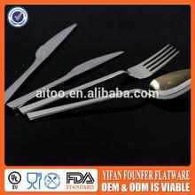 Jie yang spoon, fork, knife,stainless steel flatware ,cutlery set