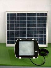 Waterproof Solar LED Floodlight with 40W Solar Panel IP65, Solar Landscape LED Lighting JR-PB005