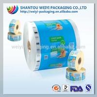Multilayer printing food flexible packaging plastic roll film