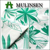Mulinsen Textile 2014 New Design Woven Poplin English Cotton Printed Fabric