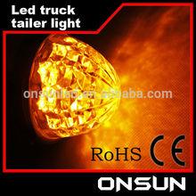 Waterproof hot sale 24v LED light Forklift/truck /trailer crystal led tail light