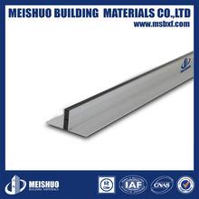Aluminum Control Joint/Inside Corner Tile Trim with Neoprene Rubber