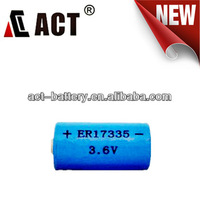 ER17335 2/3A Size 2100mAh Lithium Battery
