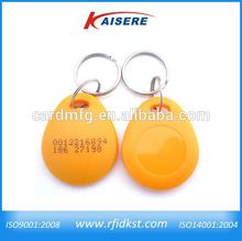 13.56MHz smart plastic nfc keyfob, RFID key fob