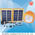 4W solar panel ,1.5W LED light solar electricity generating system for home