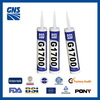 acetic cure acetic silicone sealant for application glass white