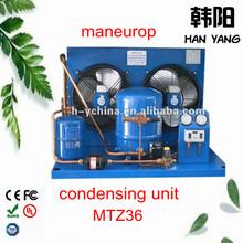 best price maneurop hermetic compressor condensing unit MTZ36 for sale