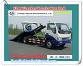 Preço de fábrica 6000-7000kg flat wrecker caminhões, car carrier wrecker truck, sabotadores de mesa