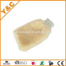Hot Car Wool Wash Mitt /microfiber cleaning glove