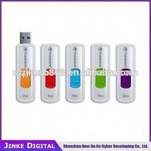 Promotional gift transcend usb flash drive 2GB 4GB 8GB 16GB 32GB 64gb Brand USB flash drive