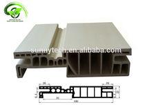 Waterproof K type wpc wood plastic composite door frame jamb 180K